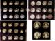 London Coins : A140 : Lot 1120 : The Official China Commemorative Coin Collection a 40-coin set mostly Crown-sized and all in silver ...