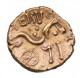 London Coins : A142 : Lot 1771 : Stater Au. Dobunni. 'Eisu tree type'. C, 15-30 AD. Obv; Dobunnic emblem. Rev; EI...