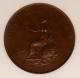 London Coins : A142 : Lot 589 : Halfpenny 1799 Restrike Pattern Halfpenny in Bronzed Copper Peck 1258 R78 NGC PF65