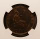 London Coins : A142 : Lot 593 : Halfpenny 1870 NGC MS63 BN