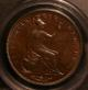 London Coins : A142 : Lot 611 : Penny 1857 Plain Trident Peck 1514 PCGS MS63 BN