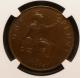 London Coins : A142 : Lot 626 : Penny 1918KN Freeman 184 dies 2+B NGC AU58 BN, a pleasing example for the grade
