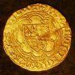 London Coins : A143 : Lot 1506 : Quarter noble Edward III Transitional treaty period (1361-63), EDWAR DEI GRAC REX AnGL D, annulets o...