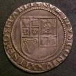 London Coins : A143 : Lot 1523 : Shilling James I Third Coinage, Sixth Bust S.2668 mintmark Lis Fine/NVF with some unevenness to the ...
