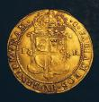 London Coins : A144 : Lot 686 : Scotland Unit or Sceptre piece James VI Ninth Coinage with Scottish Arms in First and Fourth Quarter...
