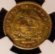 London Coins : A144 : Lot 695 : South Africa Half Pond 1893 KM#9.2 NGC VG Details, Mount Removed, Bent, Damaged, nevertheless extrem...