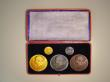 London Coins : A147 : Lot 1375 : Victoria Diamond Jubilee 1897  the Official Royal Mint issues, a 5-medal set comprising the 56mm dia...