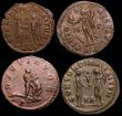 London Coins : A148 : Lot 1472 : Bil.Antoninianus Maximian, Lugdunum 289, rev. Hercules strangling the Nemean lion (RCV 13197v; RIC 4...