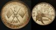 London Coins : A148 : Lot 901 : United Arab Emirates - Ajman 7 1/2 Riyals 1970 Death of Gamal Abdel Nassar Silver Proof KM#13 toned ...