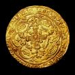 London Coins : A149 : Lot 1708 : Noble Richard II London Mint S.1656 French title resumed, Fine style, No mark over sail mintmark VF ...