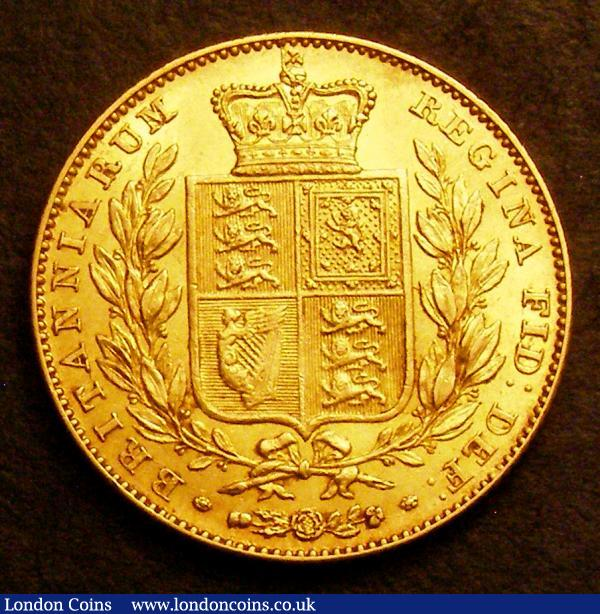 Sovereign 1841 Marsh 24 the key date Victorian variety and with unbarred As in GRATIA EF the reverse better this being choice and lustrous, this coin is a full grade better than the one we sold in August 2013 (LCA 142 Lot 640) which realised £20,000 hammer and can be viewed on our historical results feature on the London Coins website : English Coins : Auction 149 : Lot 2793