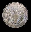 London Coins : A150 : Lot 1332 : USA Half Dollar 1892 Proof Breen 5043 UNC with a most attractive colourful tone, Extremely Rare with...