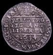 London Coins : A150 : Lot 1718 : Groat Charles I 1644 Oxford Mint S.2985 mintmark Floriated Cross NEF/GVF, comes with old Spink ticke...