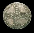 London Coins : A150 : Lot 2315 : Halfcrown 1701 Plain in angles ESC 564 VG or better, the 0 of the date weak