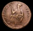 London Coins : A151 : Lot 1054 : Ireland Halfpenny 1691 Limerick S.6594 a superb example approaching EF and superior to the 1992 Spin...
