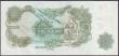 London Coins : A151 : Lot 146 : ERROR £1 Page B322 issued 1970 series HS22 304188, green thick vertical line smudge running th...