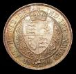 London Coins : A151 : Lot 2667 : Halfcrown 1896 ESC 730 Davies 669 dies 2B UNC and colourfully toned, the obverse with some light con...