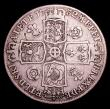 London Coins : A152 : Lot 2546 : Crown 1732 Roses and Plumes ESC 117 VG/NF the edge smoothed
