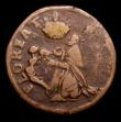 London Coins : A153 : Lot 1046 : Ireland Farthing St. Patricks, undated (c.1674) S.6569 VG