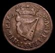 London Coins : A153 : Lot 1051 : Ireland Halfpenny 1680 S.6574 Fine, the obverse with some scratches, Rare
