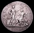 London Coins : A153 : Lot 2051 : Coronation of George III 1761 34mm diameter in silver by L.Natter. Eimer 694 Obverse Bust right laur...