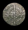 London Coins : A153 : Lot 2100 : Groat Henry V type C with mullet on right shoulder S.1765 VF on a full flan, excellent portrait, the...