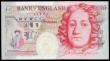 London Coins : A153 : Lot 219 : Fifty Pounds Kentfield B377 issued 1994, special low number series PW50 000028, (this note was origi...