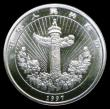 London Coins : A153 : Lot 926 : China 5 Yuan 1997 Child holding carp Silver Piedfort as KM#P29, unlisted as a piedfort by Krause Lus...
