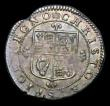 London Coins : A154 : Lot 1589 : Groat Charles II Third Hammered Coinage ESC 1839 S.3324 VF/NEF nicely toned, with a flan crack at 10...