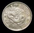 London Coins : A154 : Lot 774 : China Kiangnan Province 5 Cents CD1898 Circle around dragon Y#141 EF with a small spot on the revers...
