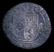 London Coins : A154 : Lot 906 : Scotland 12 Shillings Charles I Third Coinage type IV S.5563 Bust wholly within inner circle, the re...