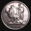 London Coins : A155 : Lot 2088 : Coronation of George I 1714 34mm diameter in silver by J.Croker, Eimer 470 the official Coronation i...
