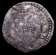 London Coins : A155 : Lot 2267 : Italian States - Naples and Sicily Half Ducaton Charles V undated (1519-1556) VF and pleasing