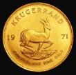 London Coins : A155 : Lot 2302 : South Africa Krugerrand 1971 GEF
