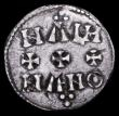 London Coins : A156 : Lot 1750 : Penny Aethelstan Small Cross, moneyers name MANNA in two lines, North East mint, S.1089, 1.12 gramme...