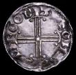 London Coins : A156 : Lot 1759 : Penny Edward the Confessor Hammer Cross type S.1182 London Mint, moneyer Goidwine GVF with some weak...