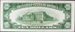 London Coins : A156 : Lot 431 : USA Silver Certificate $10 dated 1934C series B38647767A, Pick415c, UNC