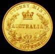 London Coins : A157 : Lot 1323 : Australia Sovereign 1866 Sydney Branch Mint Marsh 371 NEF scarce in high grade