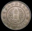 London Coins : A157 : Lot 1372 : China - Republic Dollar 1914 Y#322 Founding of the Republic 2.8mm thickness Unc even tone