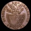 London Coins : A157 : Lot 1700 : USA Washington Halfpenny 1795 Breen 1261 edge BIRMINGHAM REDRUTH AND SWANSEA, struck on a heavier fl...