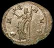 London Coins : A157 : Lot 1718 : Carausius.  Bi antoninianus.  C, 287-293 AD.  Rev; PAX AVG; Pax standing left, holding a branch and ...
