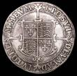 London Coins : A157 : Lot 1914 : Halfcrown Elizabeth I Seventh Issue S.2583, North 2013 mintmark 1 (1601) Near Fine/Good Fine, the re...