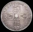 London Coins : A157 : Lot 2003 : Crown 1708 Plain in angles ESC 105 Good Fine/NVF
