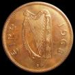 London Coins : A158 : Lot 1197 : Ireland Penny 1968 VIP Proof KM#11, nFDC starting to tone, slabbed and graded LCGS 91, one of 20 exa...