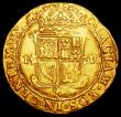 London Coins : A158 : Lot 1297 : Scotland Unit or Sceptre piece James VI 10th Coinage, Scottish Arms in first and 4th quarters S.5464...