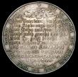 London Coins : A158 : Lot 944 : Germany, Christ Being Baptised by St. John, 53mm diameter in silver : Obverse: Two figures, one bein...