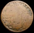 London Coins : A159 : Lot 2056 : Ireland Farthing St. Patrick's S.6569 Fair, Rare