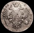 London Coins : A159 : Lot 2136 : Russia One Rouble 1732 KM#192.1 Fine