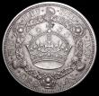 London Coins : A159 : Lot 730 : Crown 1933 ESC 373 VF with a small spot above the crown