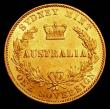 London Coins : A160 : Lot 1014 : Australia Sovereign 1866 Sydney Branch Mint Marsh 371, in an LCGS holder and graded LCGS 70